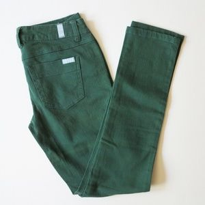 Zana Di Straight Jeans Forest Green Size 5